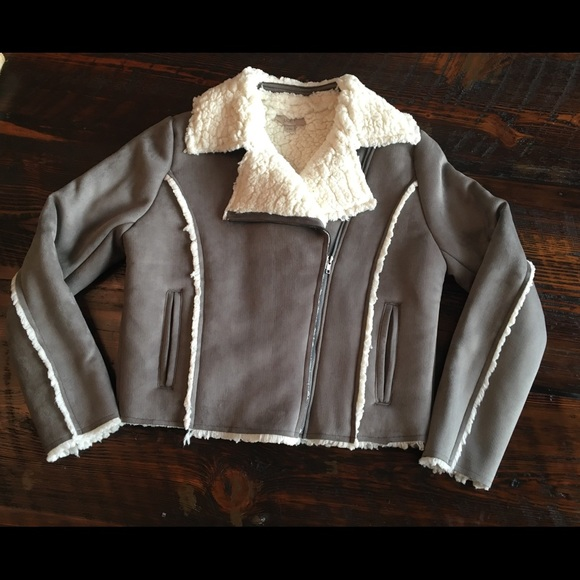 LOFT Jackets & Blazers - Loft outlet suede jacket